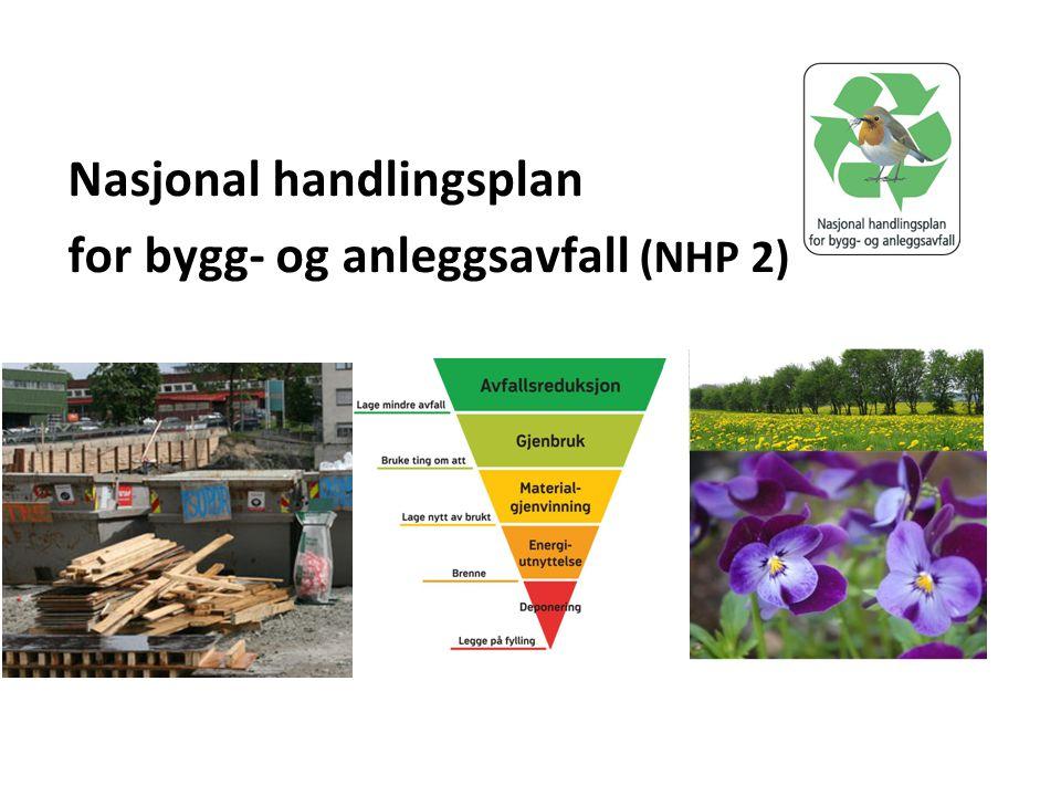 Nasjonal handlingsplan for bygg- og anleggsavfall (NHP 2)
