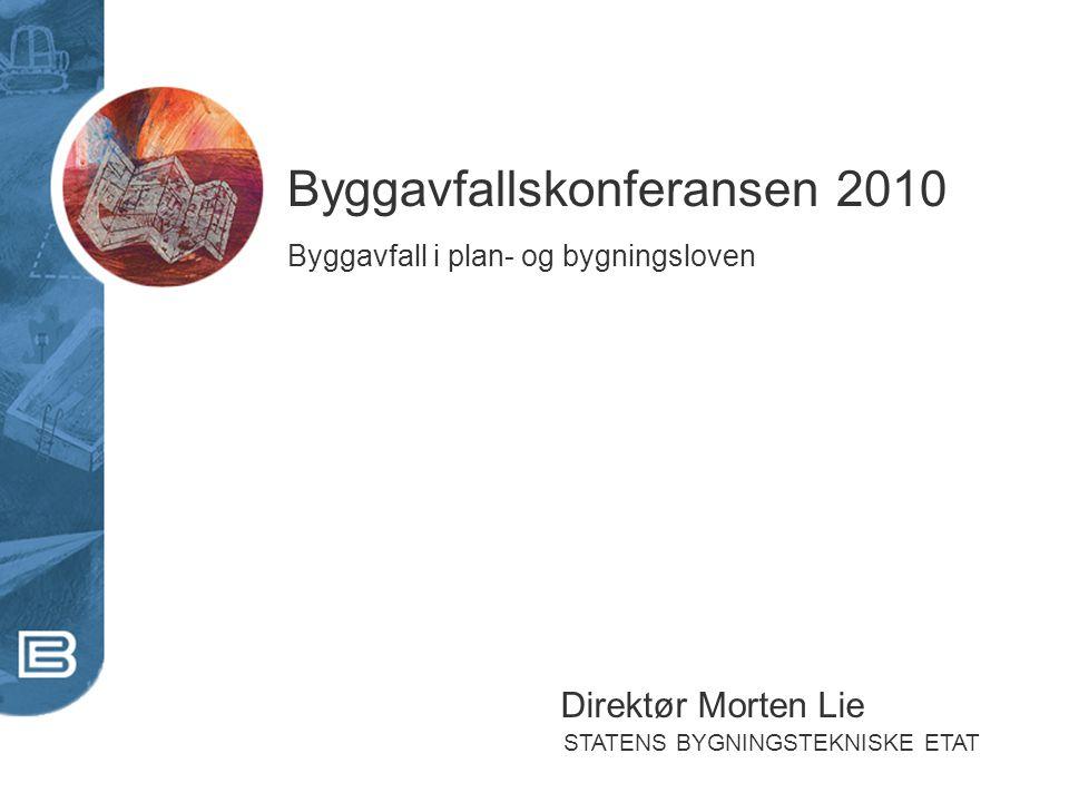 Byggavfallskonferansen 2010