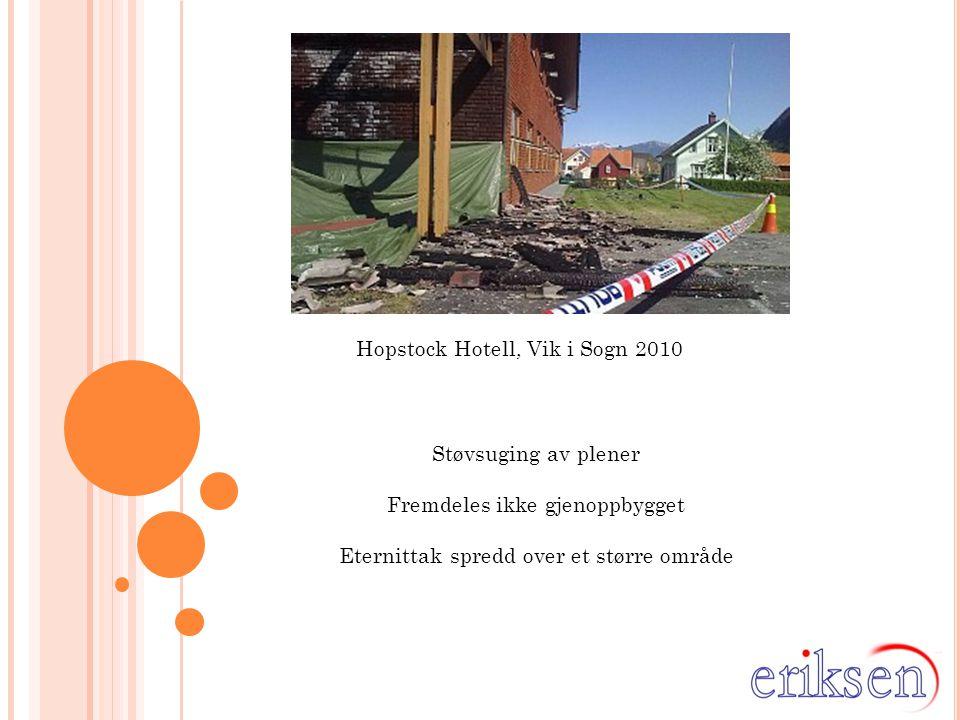 Hopstock Hotell, Vik i Sogn 2010