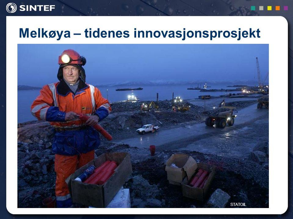 Melkøya – tidenes innovasjonsprosjekt