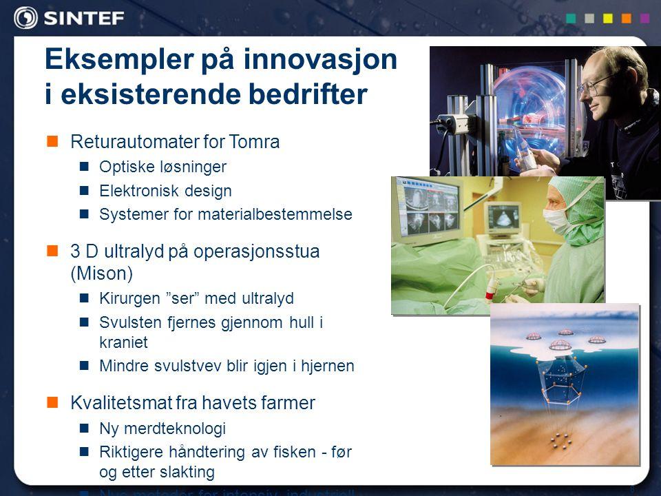 Eksempler på innovasjon i eksisterende bedrifter