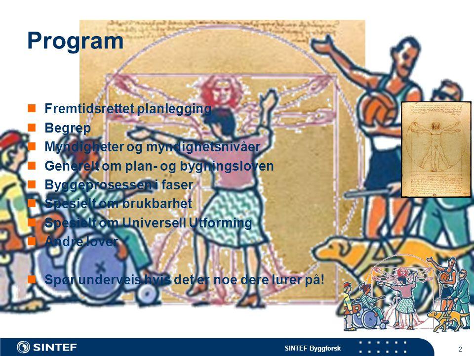 Program Fremtidsrettet planlegging Begrep