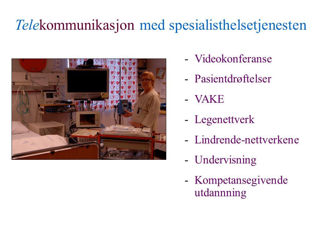Rapport fra faggruppen - sykestuefunksjonen i Finnmark