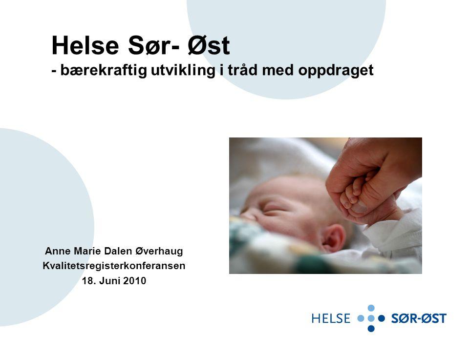 Anne Marie Dalen Øverhaug Kvalitetsregisterkonferansen