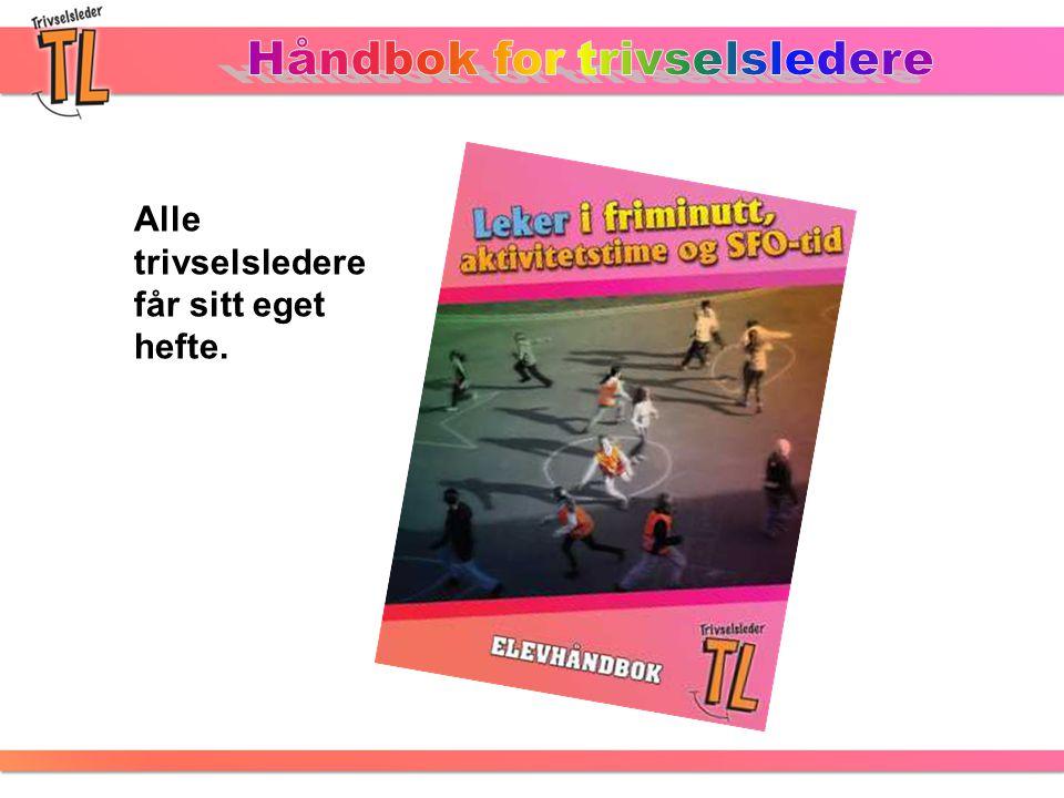 Håndbok for trivselsledere