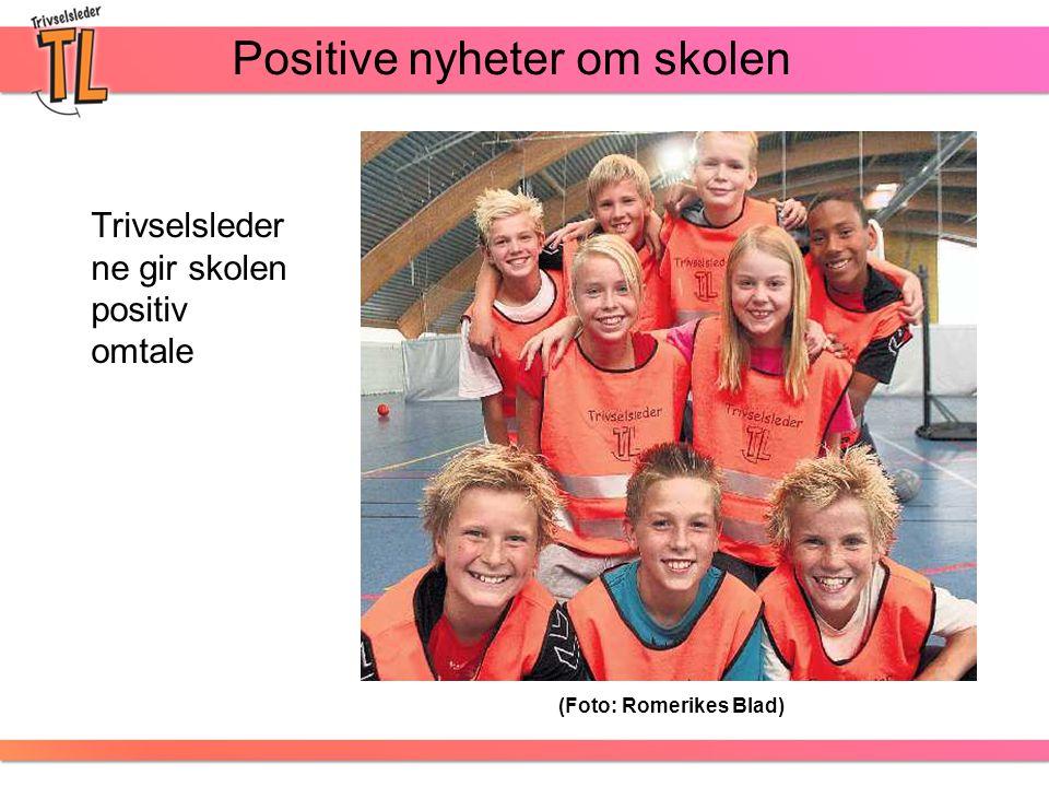 Positive nyheter om skolen