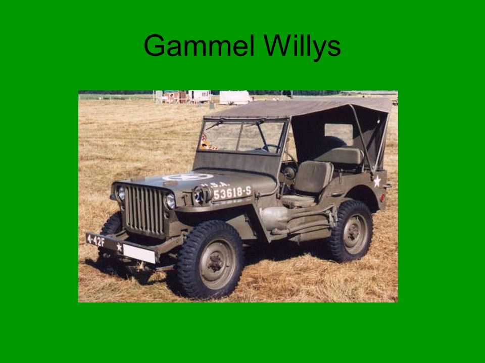 Gammel Willys