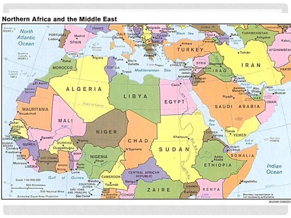 kart over syria og libanon
