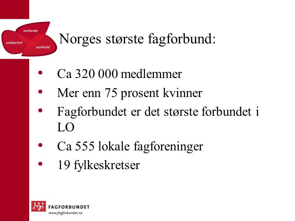 Norges største fagforbund: