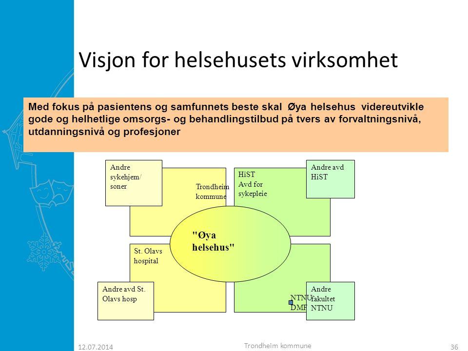 Visjon for helsehusets virksomhet