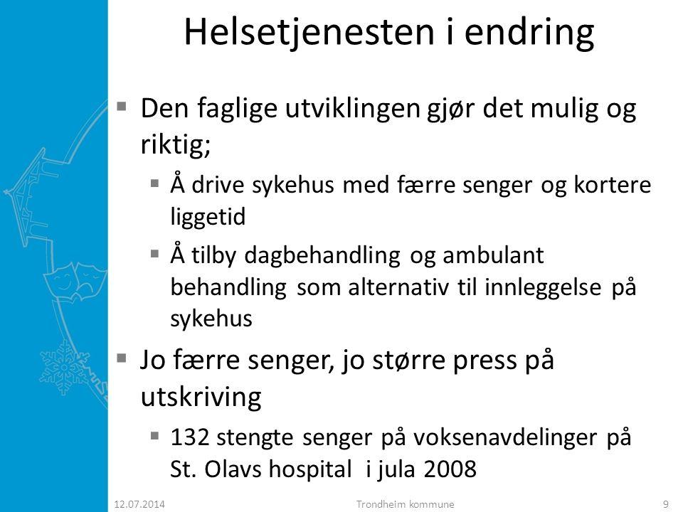 Helsetjenesten i endring