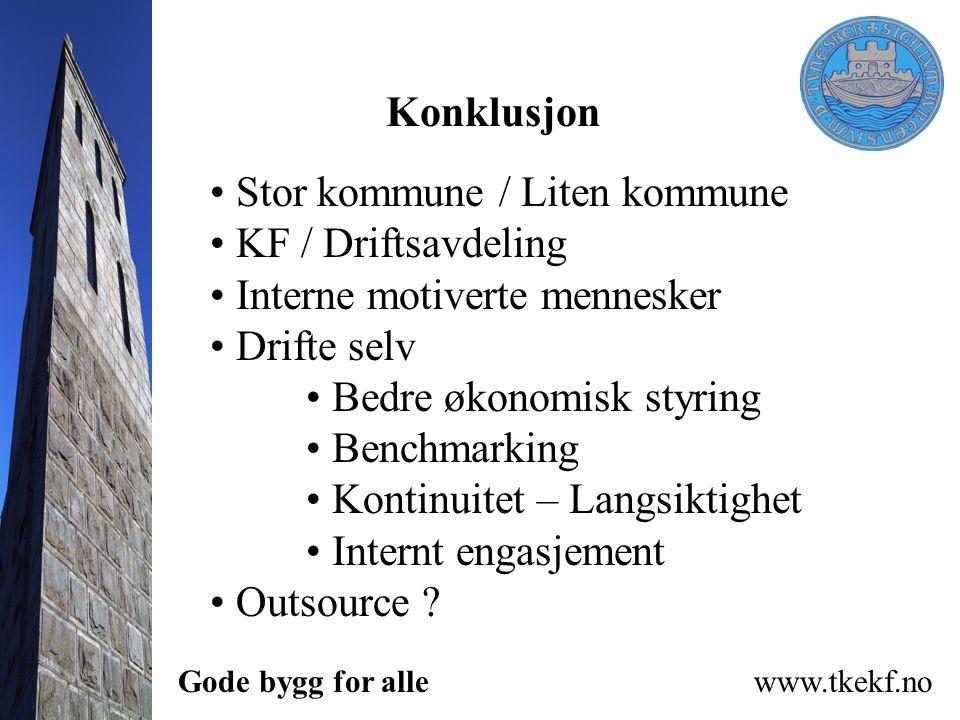 Stor kommune / Liten kommune KF / Driftsavdeling