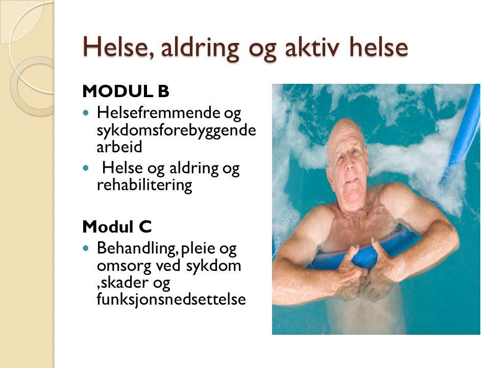 Helse, aldring og aktiv helse