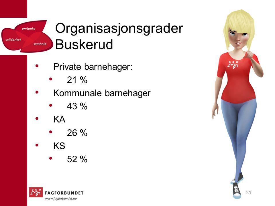 Organisasjonsgrader Buskerud