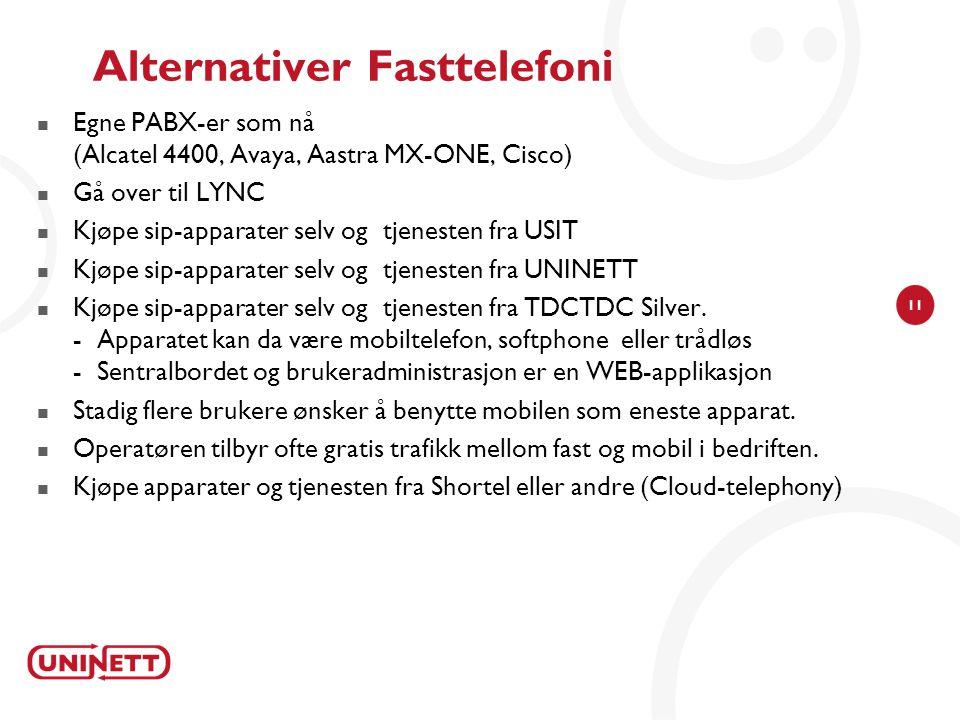 Alternativer Fasttelefoni