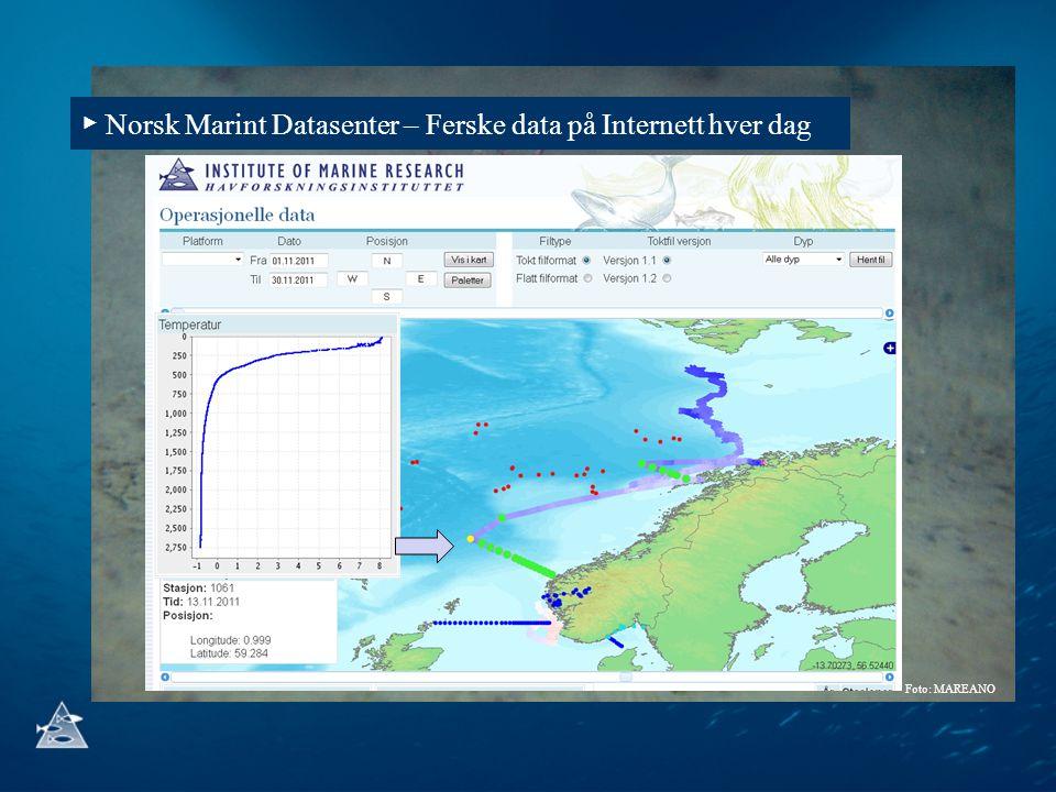 ▶ Norsk Marint Datasenter – Ferske data på Internett hver dag