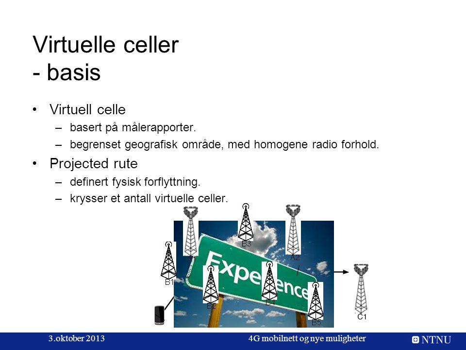 Virtuelle celler - basis