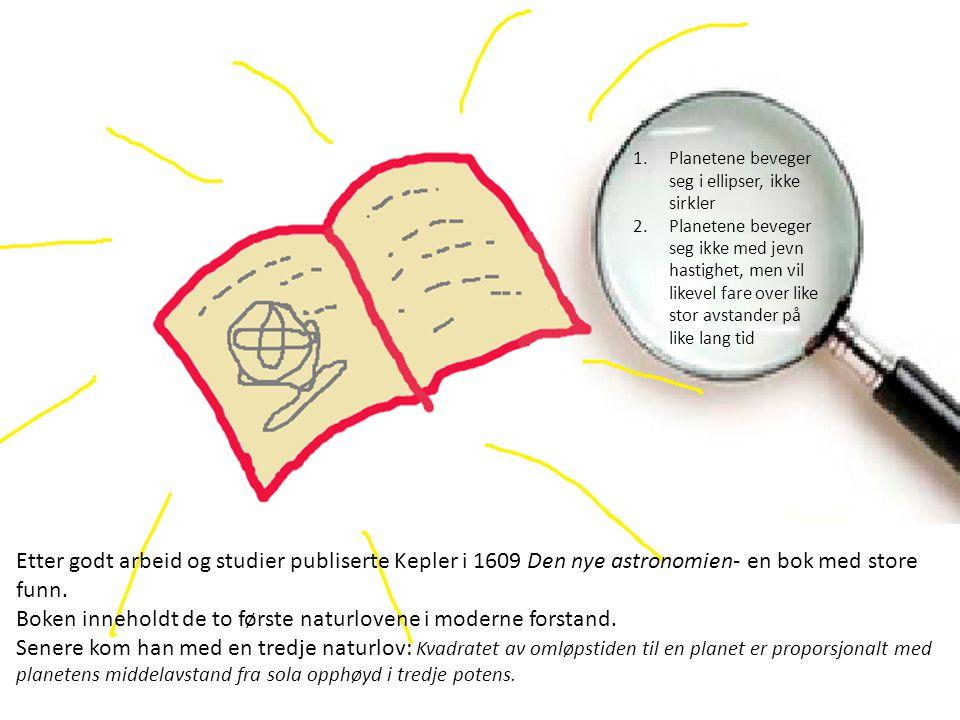 Boken inneholdt de to første naturlovene i moderne forstand.