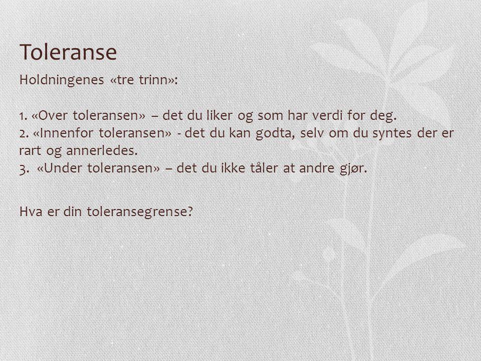 Toleranse