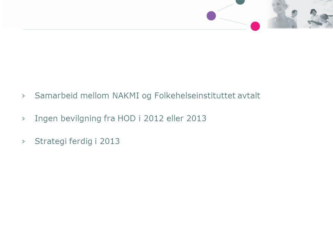 Samarbeid mellom NAKMI og Folkehelseinstituttet avtalt