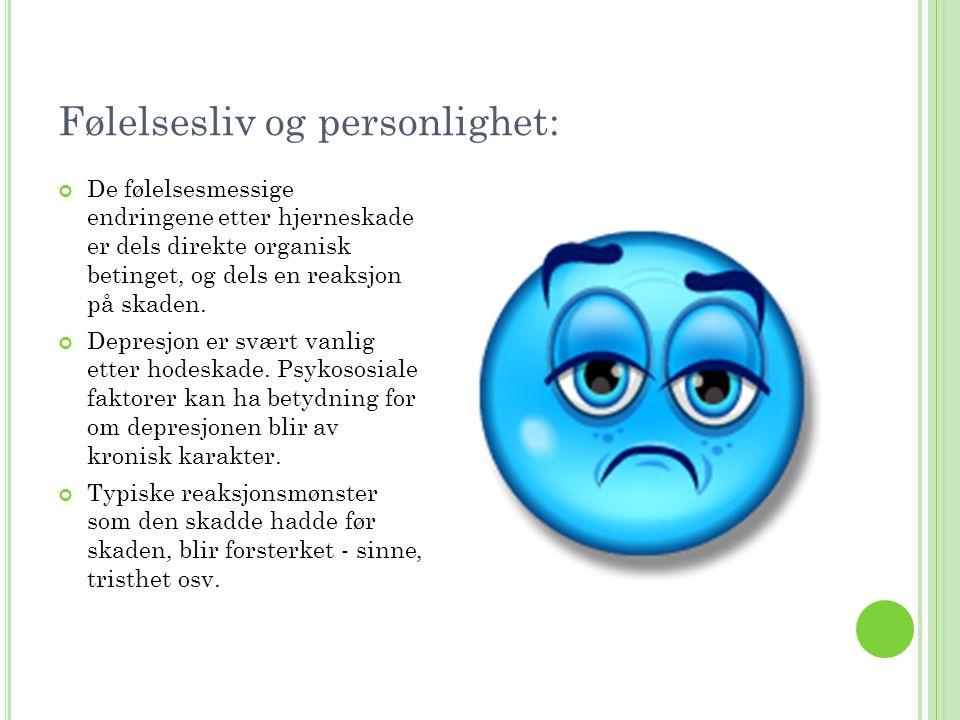 Følelsesliv og personlighet: