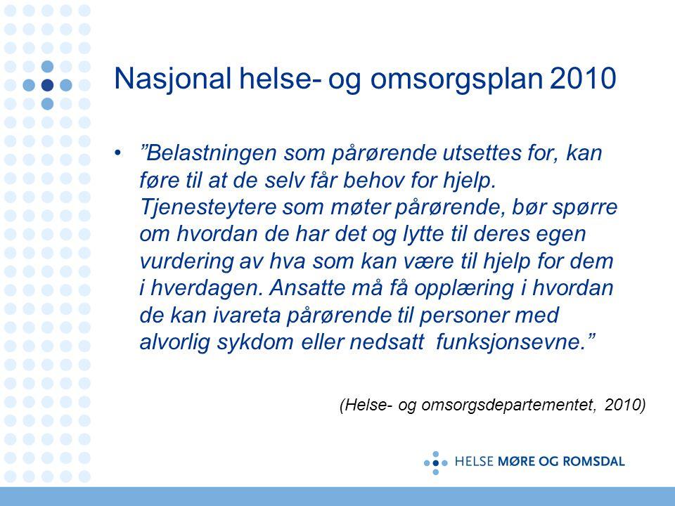 Nasjonal helse- og omsorgsplan 2010