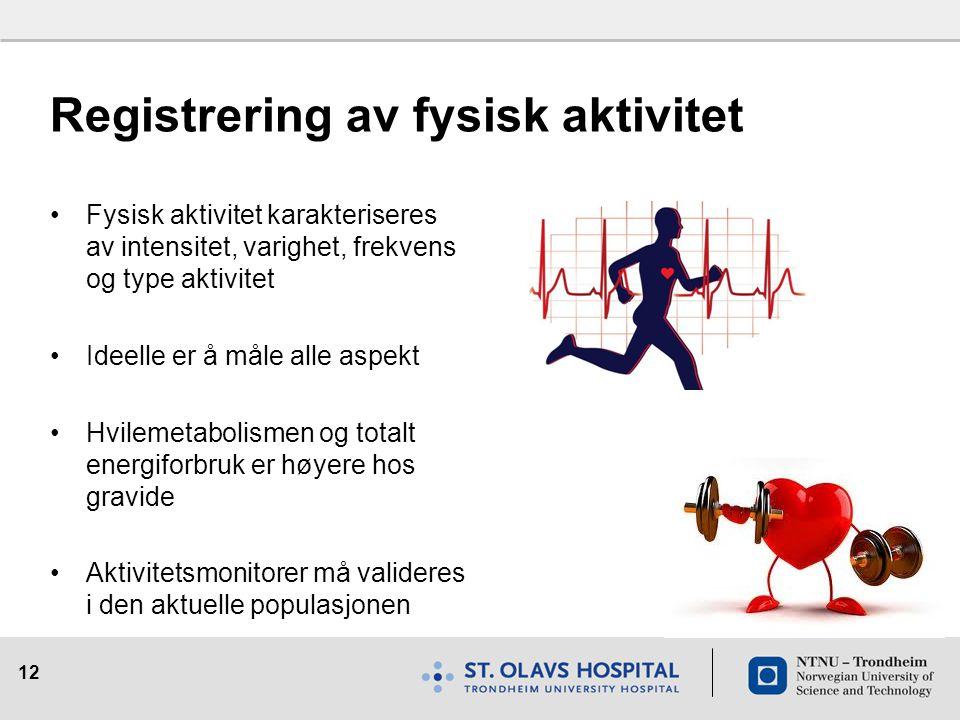 Registrering av fysisk aktivitet