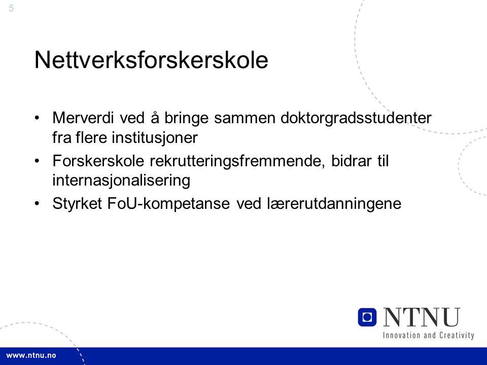 Nettverksforskerskole