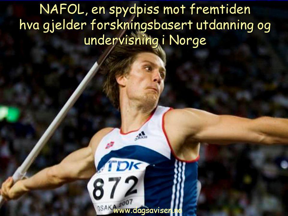 NAFOL, en spydpiss mot fremtiden hva gjelder forskningsbasert utdanning og undervisning i Norge