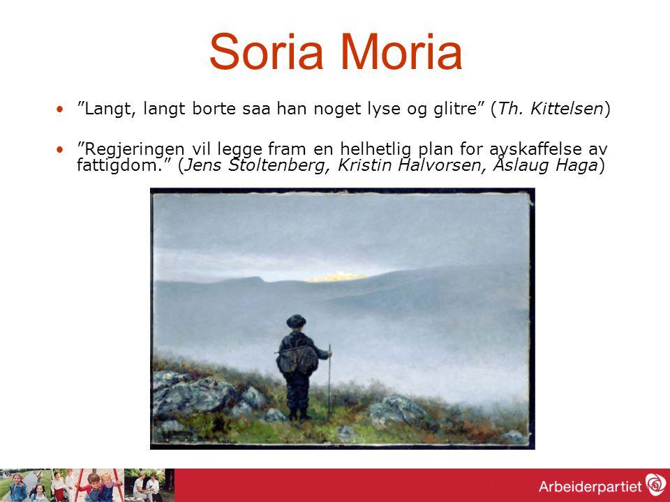 Soria Moria Langt, langt borte saa han noget lyse og glitre (Th. Kittelsen)