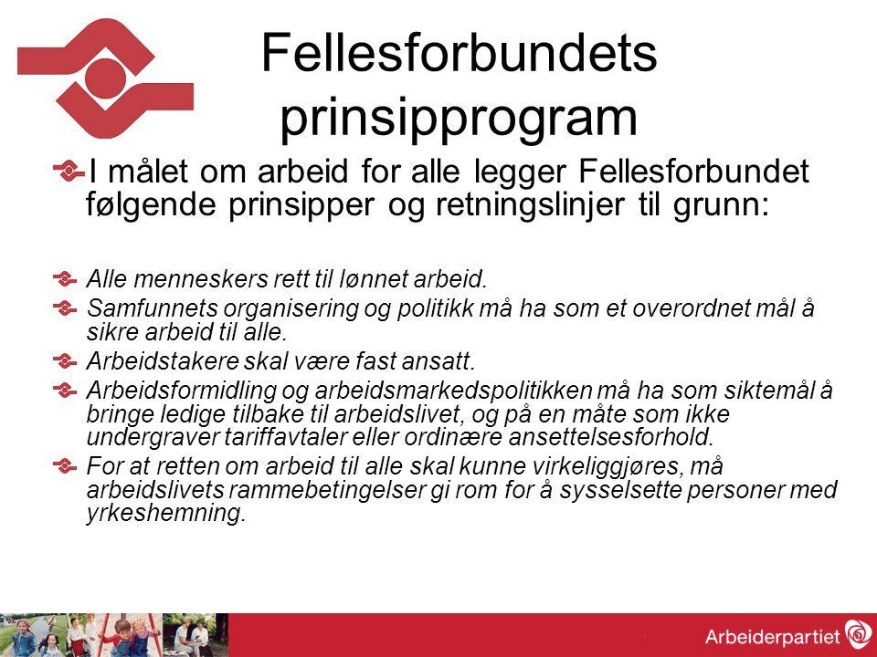 Fellesforbundets prinsipprogram