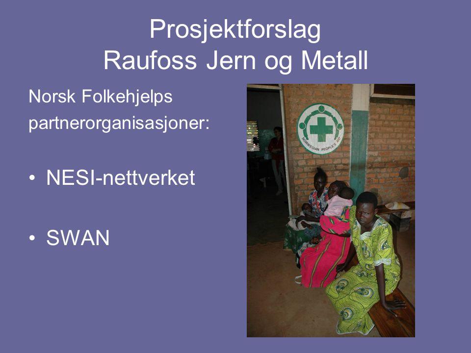 Prosjektforslag Raufoss Jern og Metall