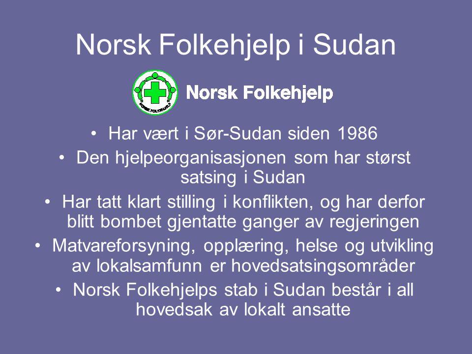 Norsk Folkehjelp i Sudan