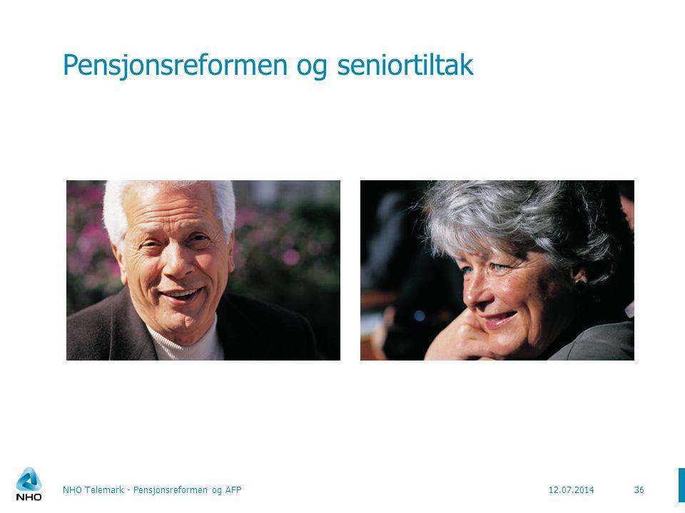 Pensjonsreformen og seniortiltak