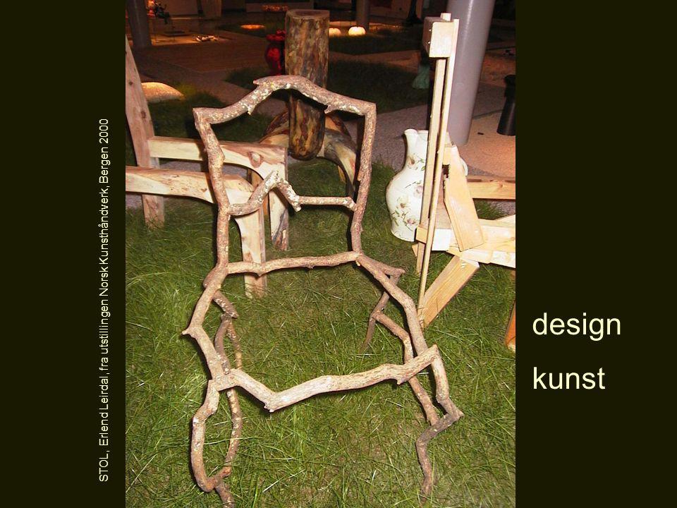 STOL, Erlend Leirdal, fra utstillingen Norsk Kunsthåndverk, Bergen 2000