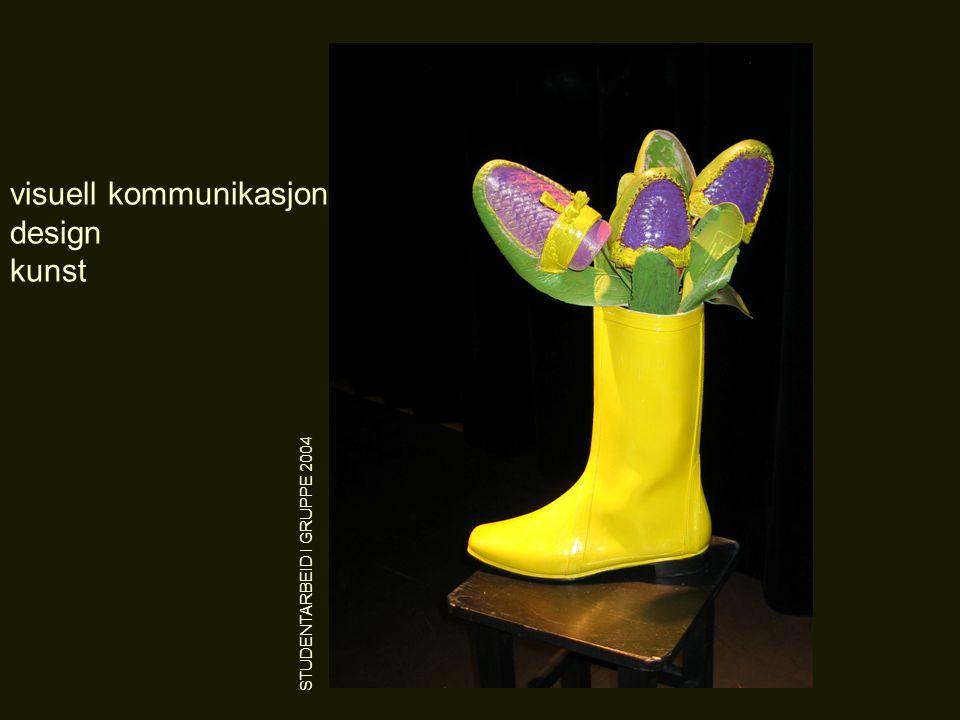 visuell kommunikasjon design kunst