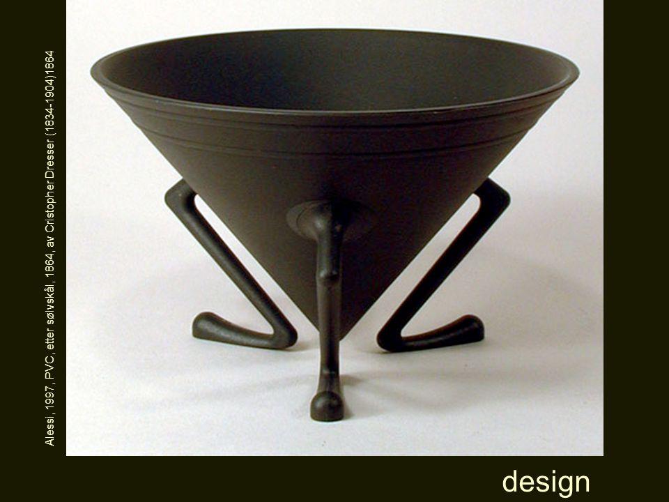 Alessi, 1997, PVC, etter sølvskål, 1864, av Cristopher Dresser (1834-1904)1864