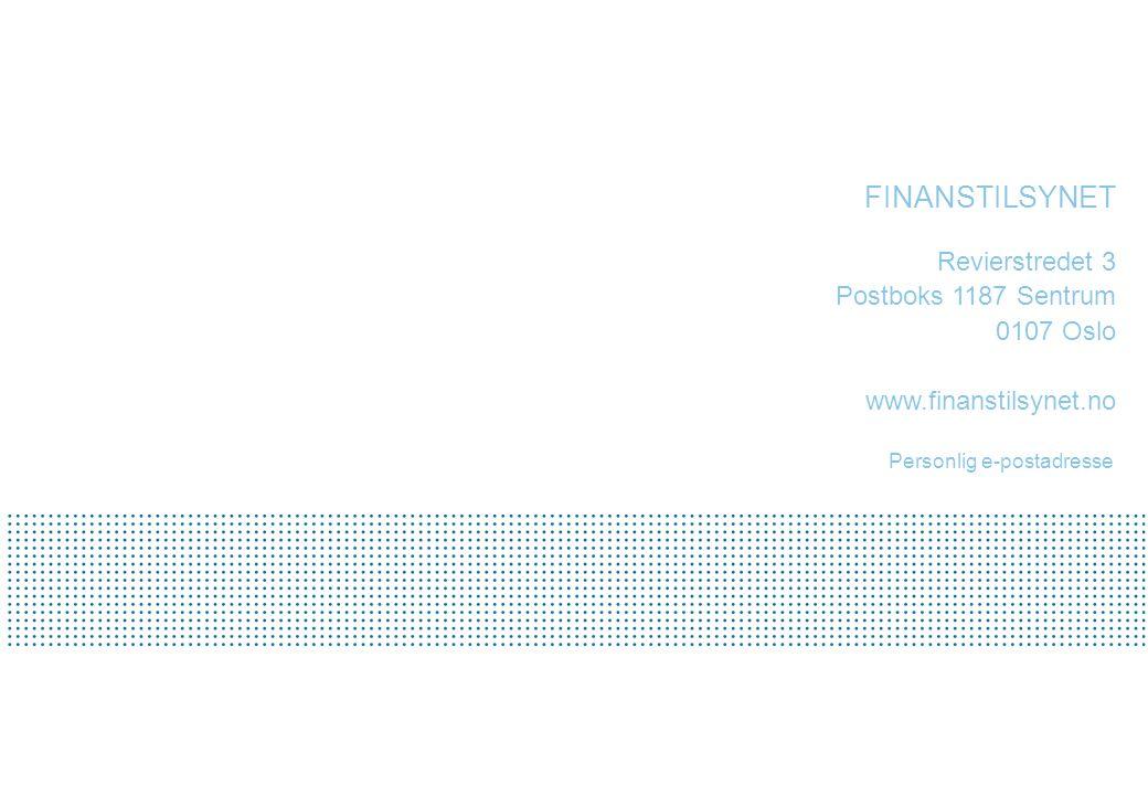 Personlig e-postadresse