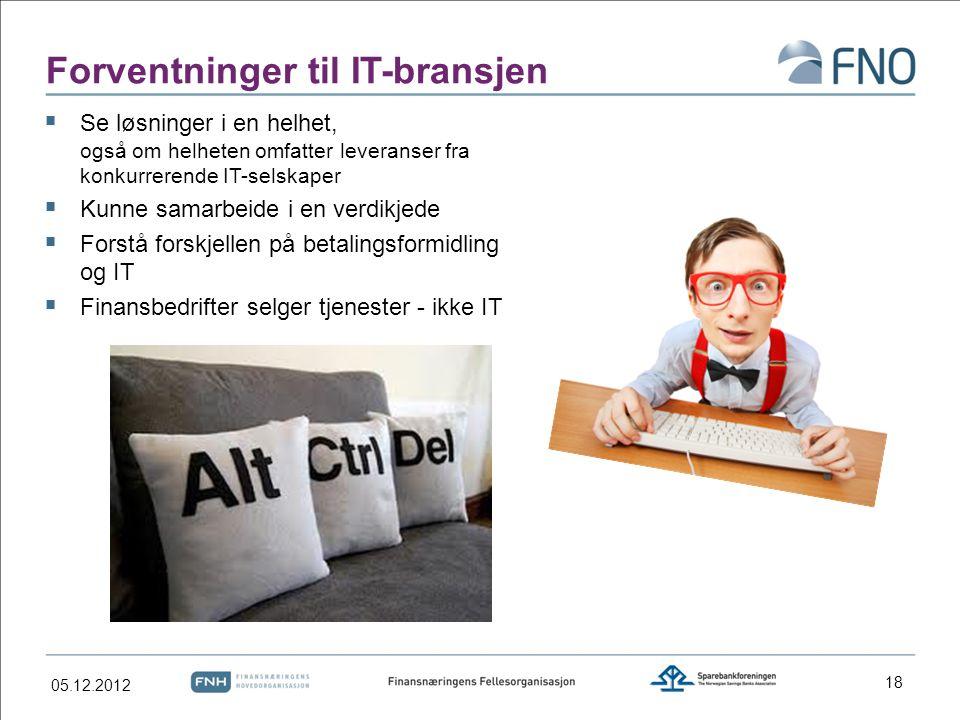 Forventninger til IT-bransjen