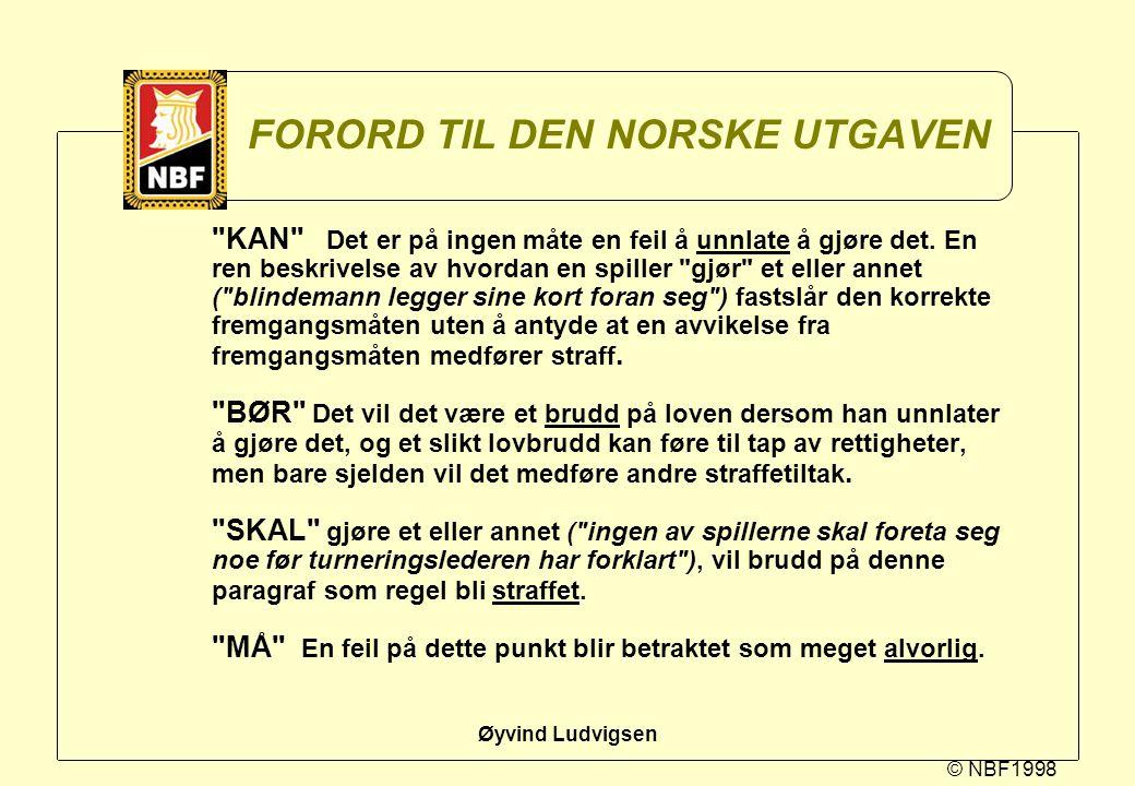 FORORD TIL DEN NORSKE UTGAVEN