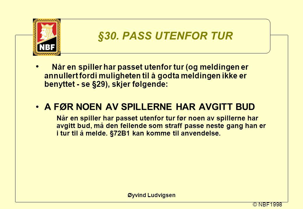 §30. PASS UTENFOR TUR