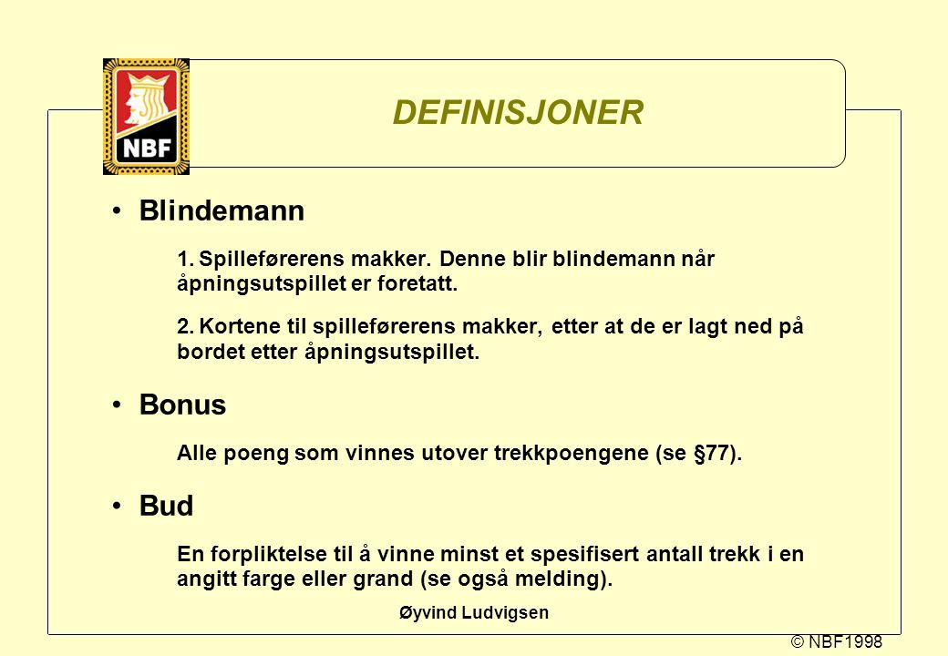 DEFINISJONER Blindemann Bonus Bud