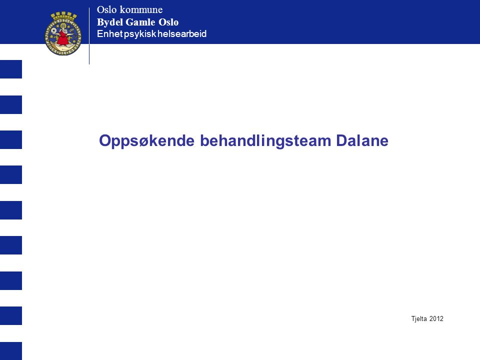 Oppsøkende behandlingsteam Dalane