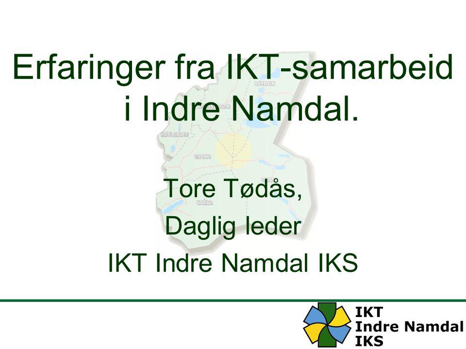 Erfaringer fra IKT-samarbeid i Indre Namdal.