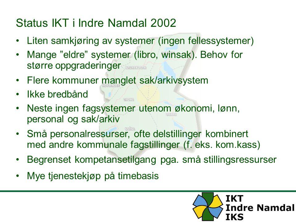 Status IKT i Indre Namdal 2002