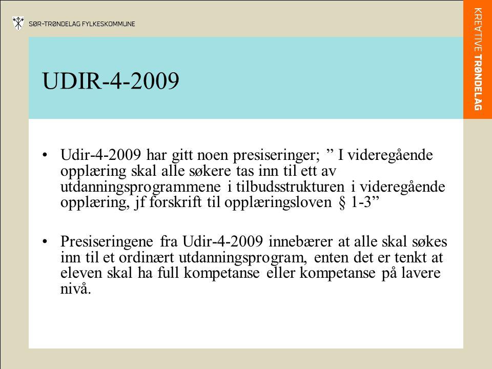 UDIR-4-2009