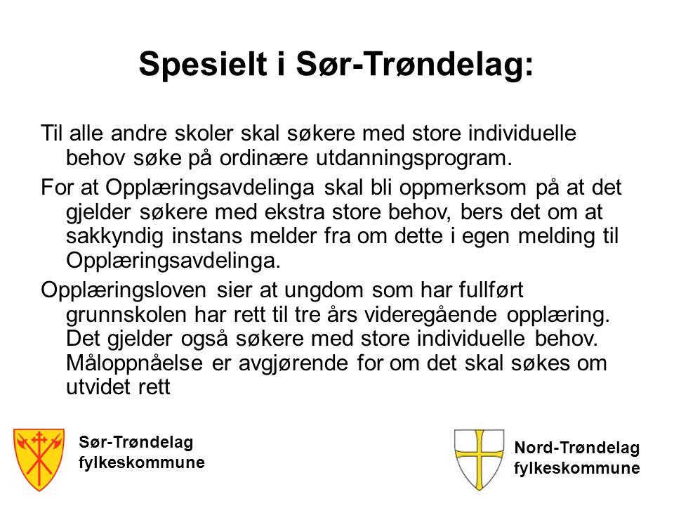 Spesielt i Sør-Trøndelag: