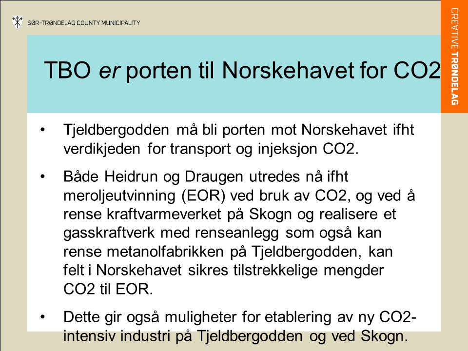 TBO er porten til Norskehavet for CO2