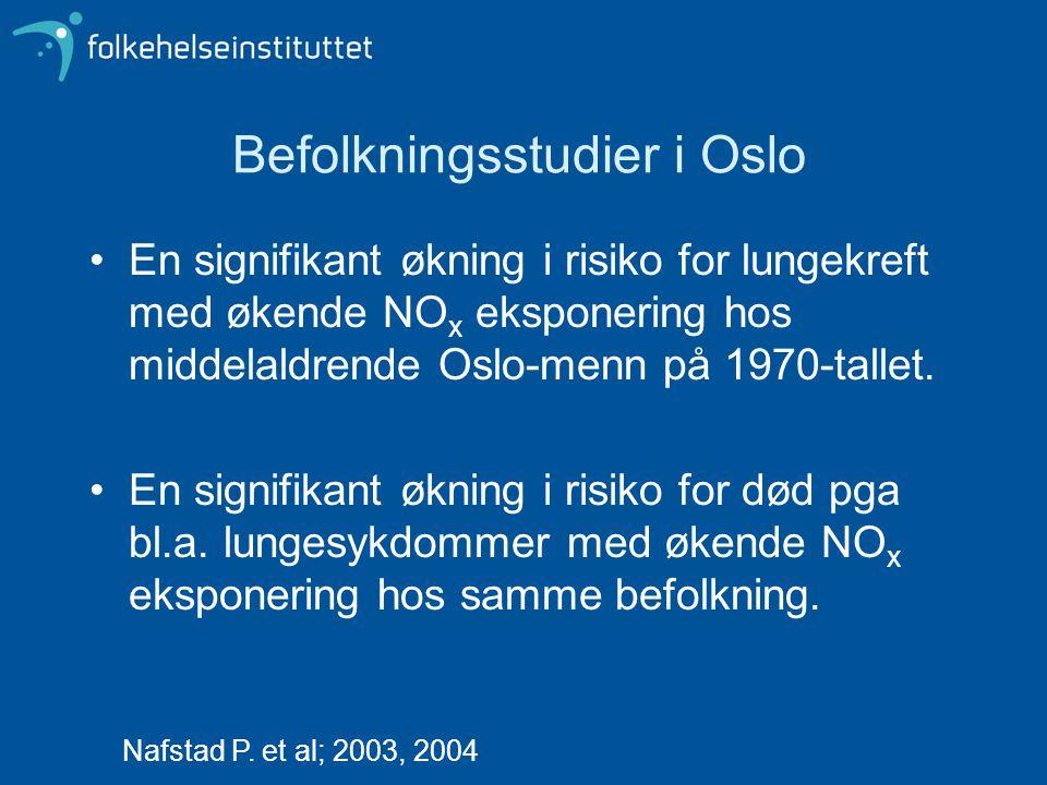 Befolkningsstudier i Oslo