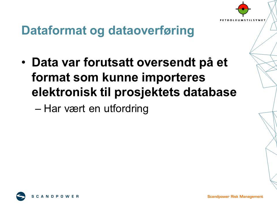 Dataformat og dataoverføring